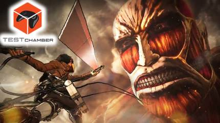 Test Chamber – Taking Them Down Limb By Limb In Attack On Titan