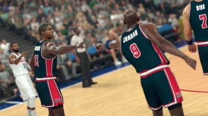 See These Dream Teams In Action In New NBA 2K17 Trailer