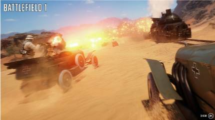 Sinai Desert Map Introduces A Controllable Armored Train