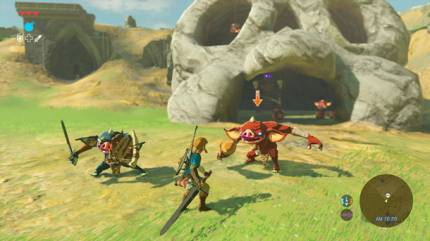 Magnesis Ability Showcased In The Legend of Zelda: Breath of the Wild