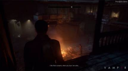 Dontnod Releases 15-Minute Vampyr Walkthrough Video