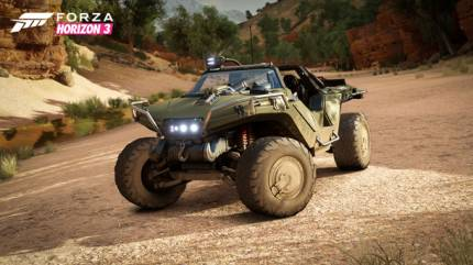 Halo's Warthog Makes A Trip To Earth For Forza Horizon 3
