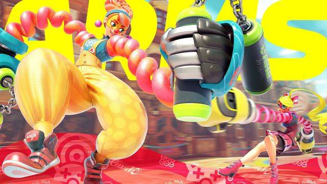 Arms' new fighter is a human balloon animal