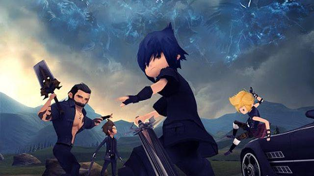 Final Fantasy 15 Pocket Edition for mobile looks creepily cute