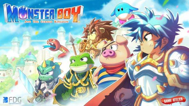 Monster Boy and the Cursed Kingdom Switch Footage Unveiled