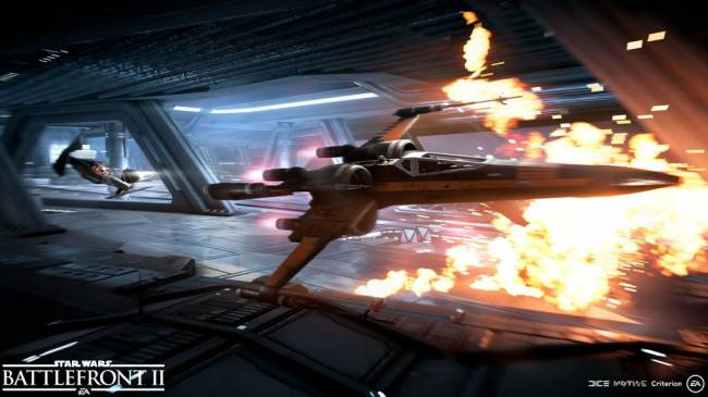 Star Wars Battlefront II Starfighter Assault Preview — Red Five, Standing By