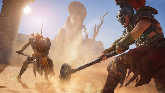 The more I play Assassin's Creed Origins the more I like it