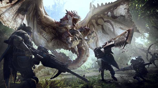 Watch New Gameplay Of Monster Hunter World's Quests