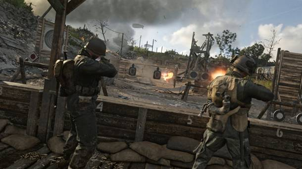 Exclusive First Look At Call Of Duty: WWII's Headquarters Mode