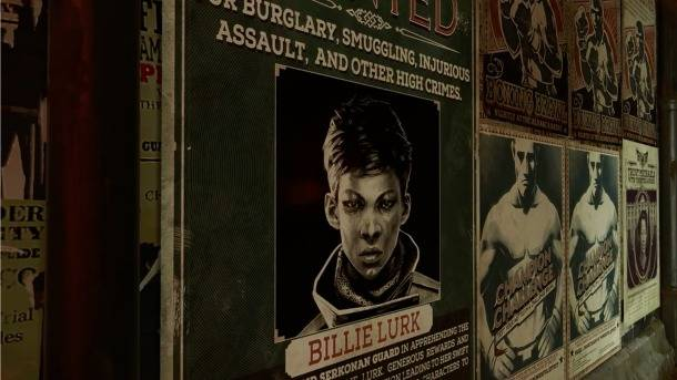 Dishonored: Death Of The Outsider Trailer Shows Billie Lurk's Killing Prowess