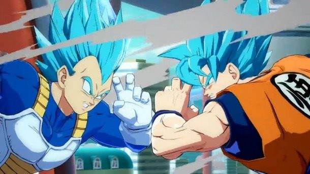 Watch Super Saiyan Blue Goku And Vegeta In Action