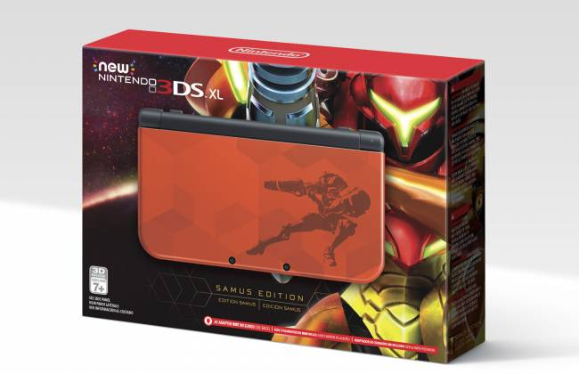 Nintendo's 'Samus' 3DS XL is perfect for that 'Metroid' reboot