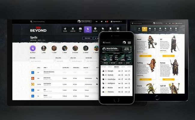 D&D's revamped RPG companion site is live