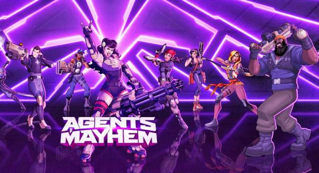 Blow stuff up and fight evil as 'Agents of Mayhem' on console and PC