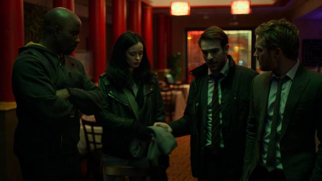 Recommended Reading: Netflix's heroes return in 'The Defenders'