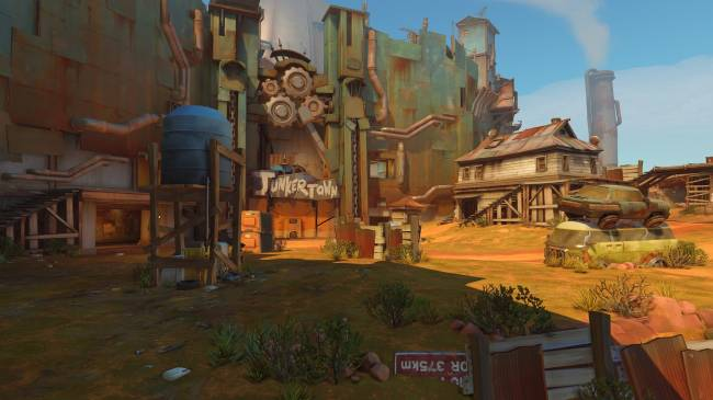 Brawl in the post-apocalypse in the next 'Overwatch' map: Junkertown