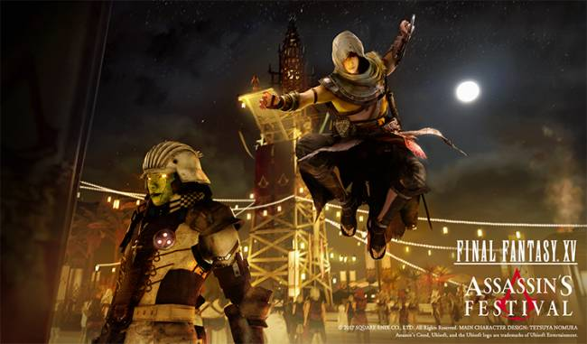 'Assassin's Creed' is crossing over with 'Final Fantasy'