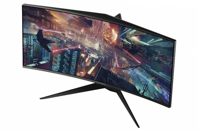 Alienware's 34-inch curved monitor supports NVIDIA G-Sync