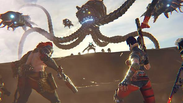 Get a free taste of 4v1 shooter Raiders of the Broken Planet next month