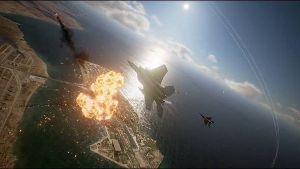 Ace Combat 7: Skies Unknown got a brand new choir-backed trailer at Gamescom
