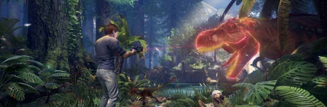 ARK Park's latest trailer goes in guns blazing