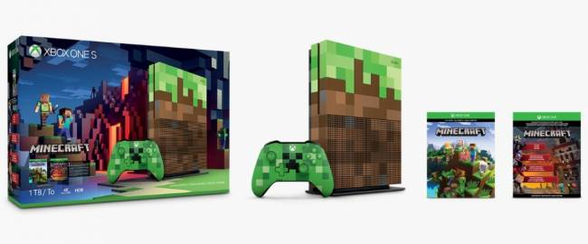 Xbox One S Minecraft Limited Edition Bundle: What's in It and How to Pre-Order