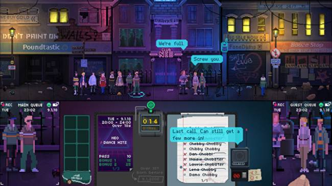Grimly satirical post-Brexit bouncer sim Not Tonight is out now