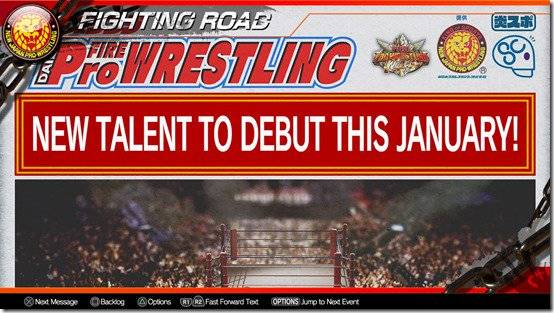 Fire Pro Wrestling World's Fighting Road Is An Educational And Entertaining Experience