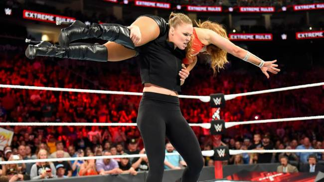 Ronda Rousey May Be A Newcomer To WWE, But She Understands It Better Than You