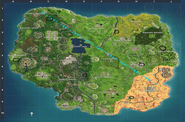 Fortnite: How to complete Timed Trials