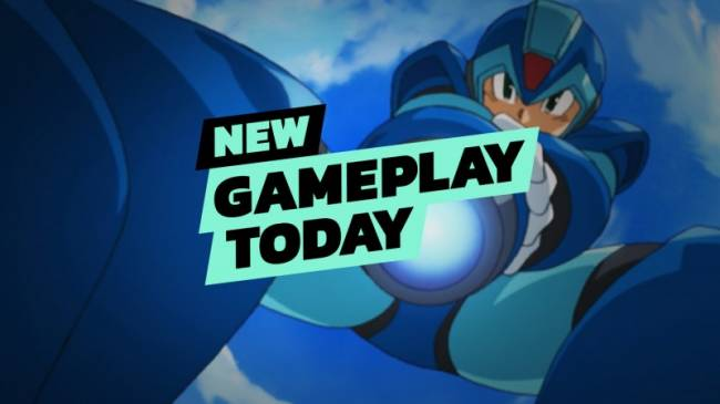 New Gameplay Today - Mega Man X Legacy Collection