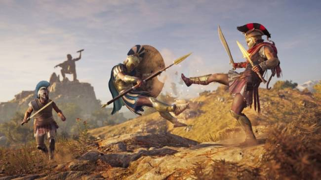 Mercenaries Are The MVPs In Assassin's Creed Odyssey