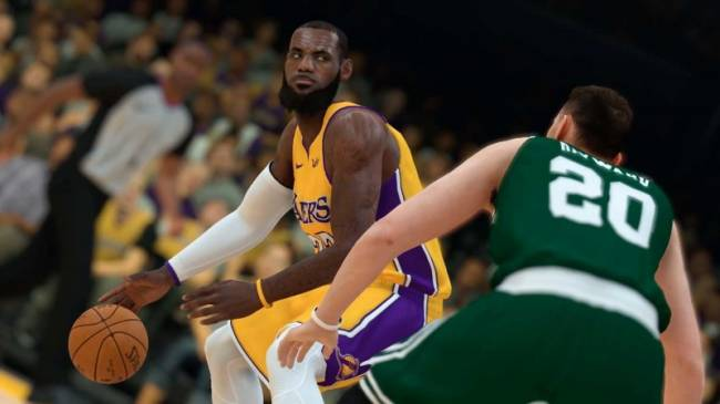 NBA 2K19's First Gameplay Trailer Doesn't Hold Back