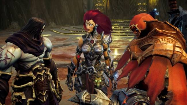 The Latest Darksiders III Trailer Features Cameos From Previous Protagonists War And Death
