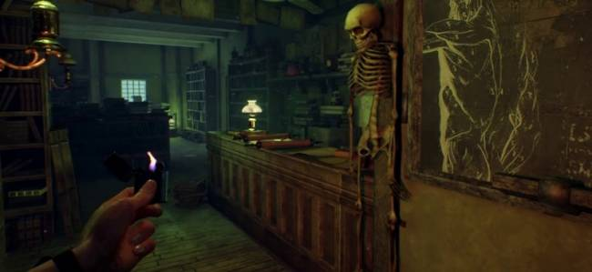 First Call Of Cthulhu Gameplay Trailer Puts Cthulhu On Speed Dial