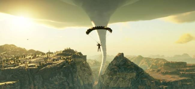 Rico Parachutes Into A Tornado In New Just Cause 4 Trailer, Because Why Not?