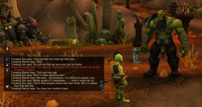 World Of Warcraft Has A God Of War Reference That Comments On Recent Lore Controversy