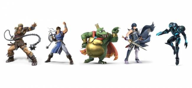 Amiibos For Simon And Richter Belmont, King K. Rool, Chrom, And Dark Samus Are In The Works