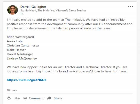 Microsoft Studio The Initiative Hires Red Dead Redemption Writer, Rise Of The Tomb Raider Co-Director