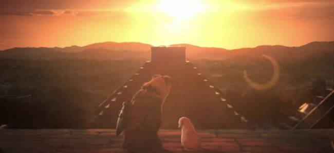 Tomb Raider's Cute Trailer Is A Lot Less Grim And A Lot More Dog