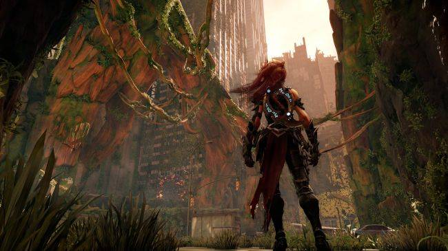 Darksiders 3 trailer shows environmental puzzles with fire magic and bomb bugs