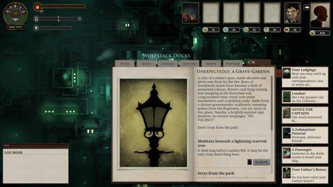 Sunless Sea 'Tales of the Grave-Garden' expansion mod adds stories, ships, guns
