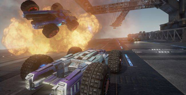 Grip, the Rollcage-inspired combat racing game, rolls out on November 6