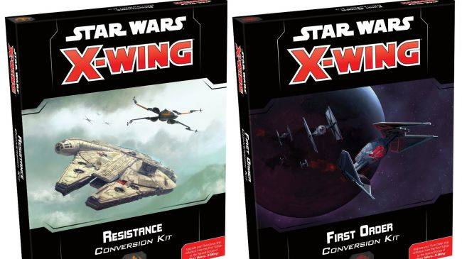 Star Wars miniatures games X-Wing, Legion go to the Clone Wars in 2019