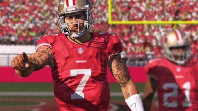 Colin Kaepernick's name was removed from a song lyric on the Madden 19 soundtrack