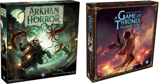 New Arkham Horror edition coming, A Game of Thrones: The Board Game getting a Daenerys expansion