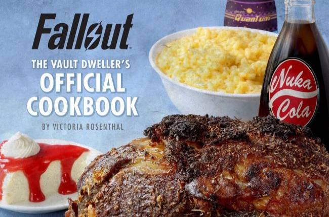 There's an official Fallout recipe book on the way
