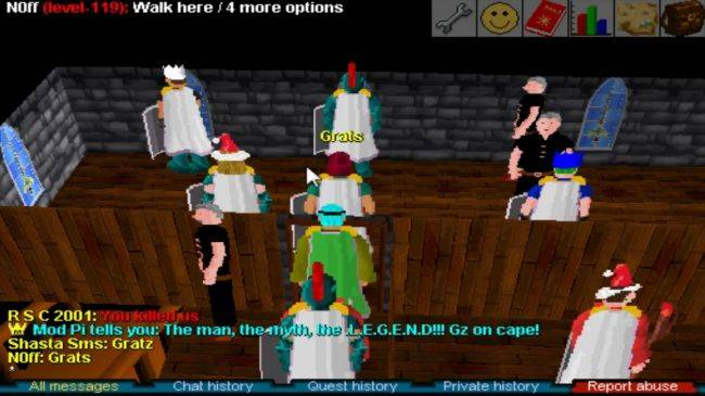 Runescape Classic's shutdown was delayed just so one player could finish his last quest