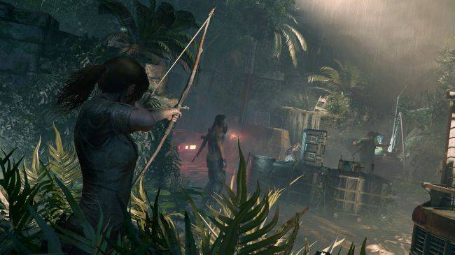 Shadow of the Tomb Raider teases brutal stealth kills, deadly tombs, cave-swinging