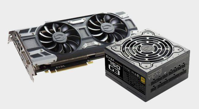 This EVGA GTX 1080 SC with a 750W PSU is just $490 right now